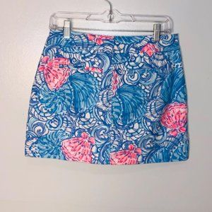 Lilly Pulitzer Neon Pink Skirt